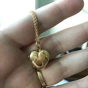 Vintage Tiffany & Co Heart Locket